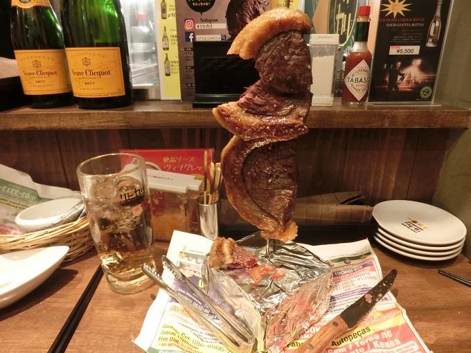 名古屋駅の肉バル、本格的なシュラスコが食べられるリトル・カリオカの口コミ