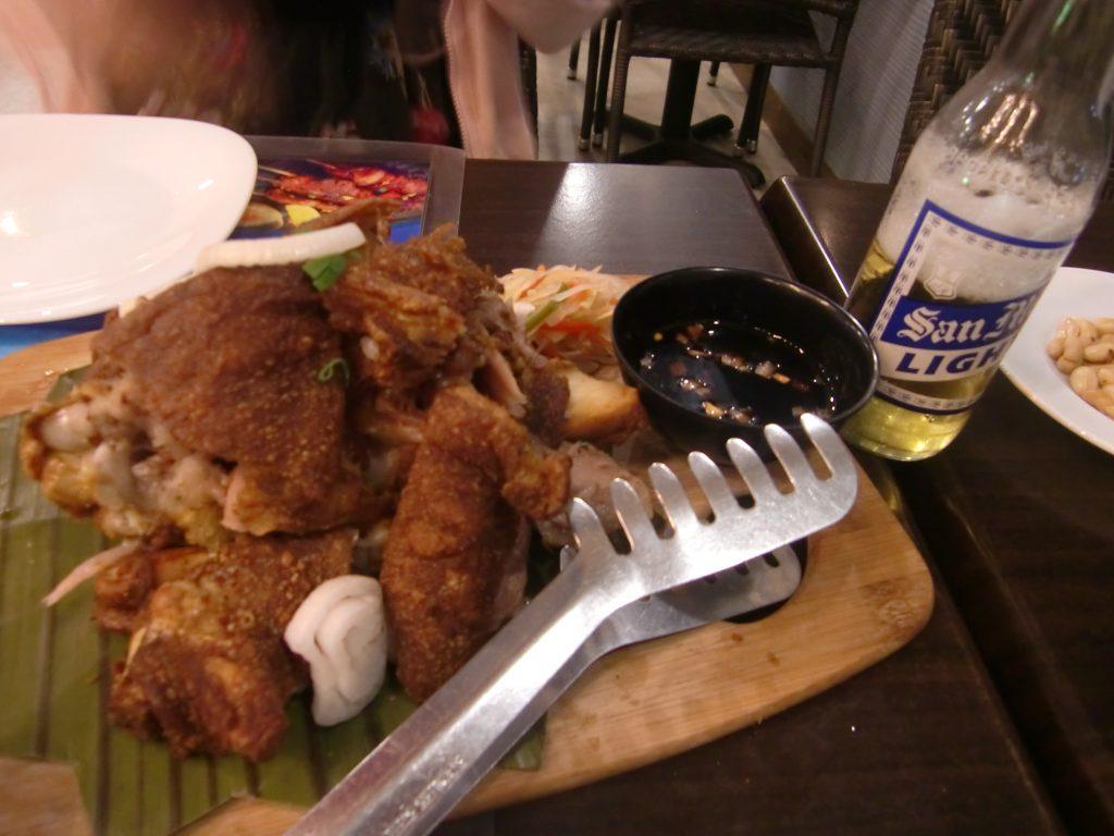 セブ、マクタン島で、安くて美味しいフィリピン料理のフィエスタベイ・アジアンシーフード