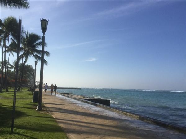 1月のハワイ、ロングステイ旅行記①