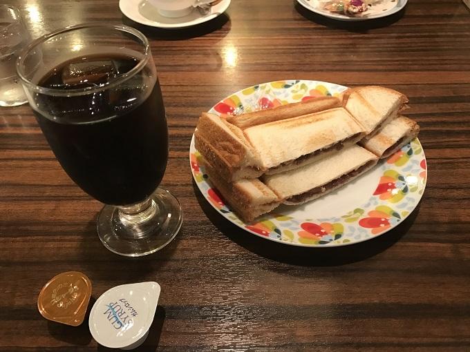 名古屋駅で、喫茶店のモーニングを食べるならここ、モーニング喫茶リヨン