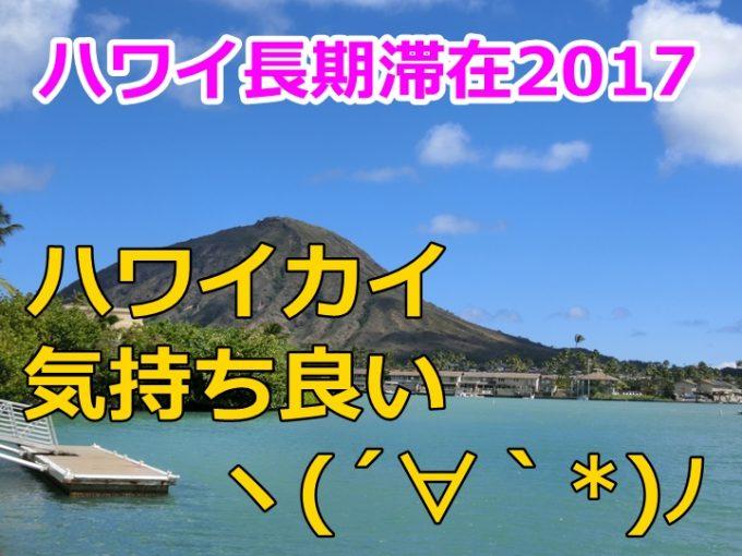 ハワイ旅行記19日目、ハワイカイで1日過ごすランチ&ショッピング