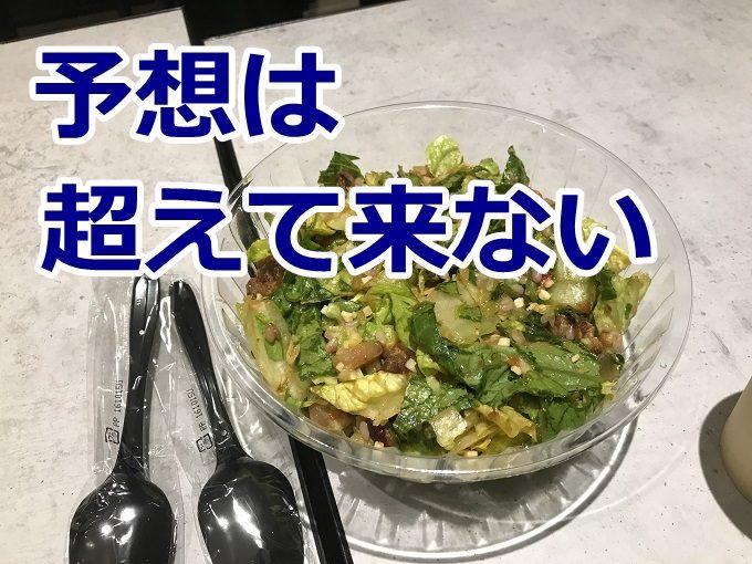 GO GREEN名古屋のサラダボウルを食べてみた、素直な感想書きます。