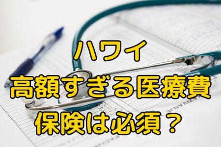 ハワイ旅行、有料の海外旅行保険は必須レベル、高すぎるアメリカの医療費