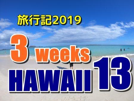 ハワイ旅行記2019:うまい和牛ロコモコと飯うまハッピーアワー