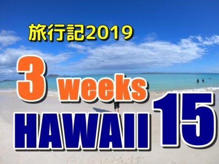 ハワイ旅行記長期滞在2019:フラグッズ専門店とカイムキ散策