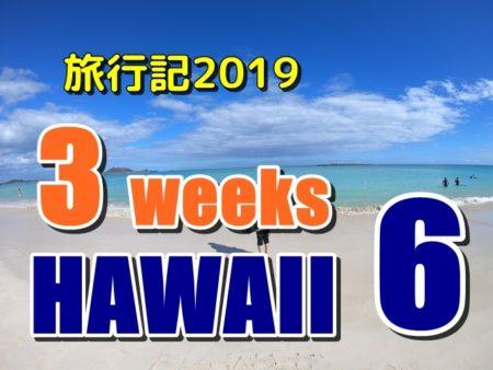 ハワイ旅行記2019:コンドミニアムで自炊とガッツリ昼寝