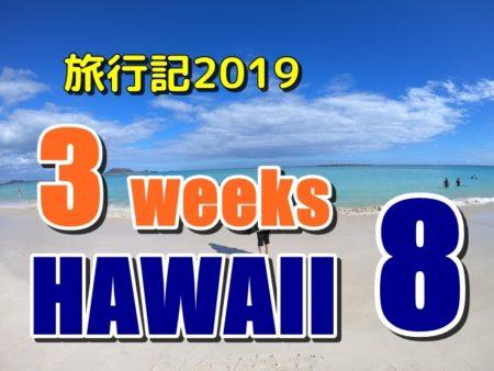 ハワイ長期滞在2019:8、一日寝て過ごす、昼寝しまくり何もしない一日