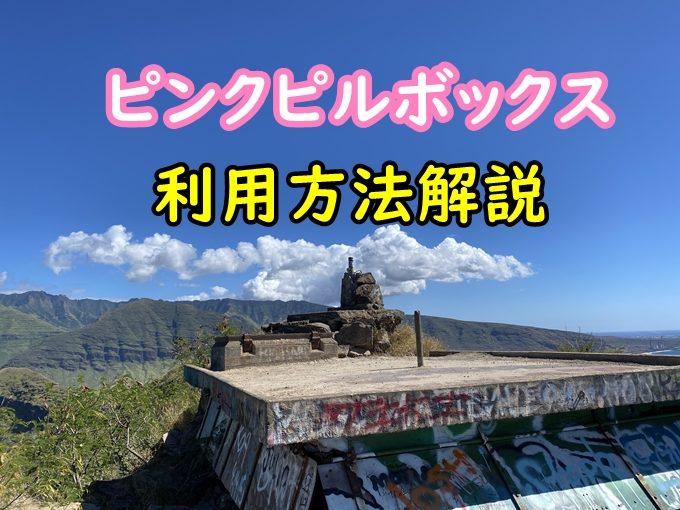 【動画】ピンクピルボックス車上荒らし多発|登山時間と難易度もブログで解説
