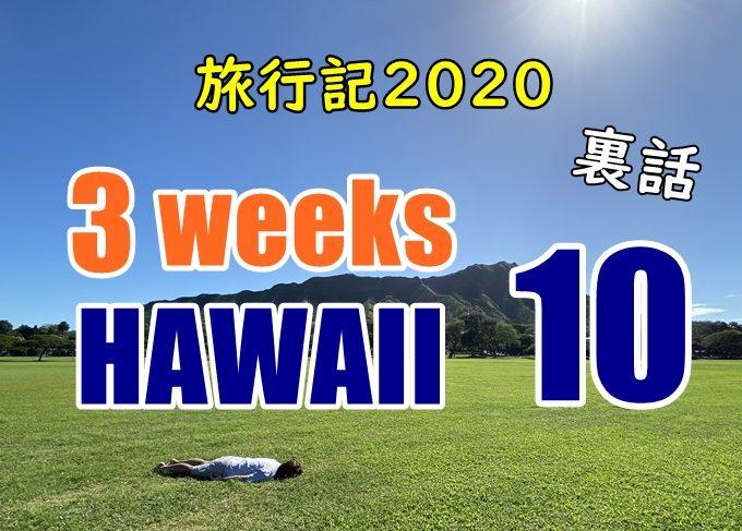 【動画】ハワイ旅行記2020#10:格安で行くハレイワの旅・カメを見る!!