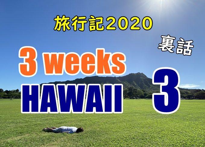 【裏話】ハワイ旅行記2020、3日目:ハワイ系youtubeを見ない理由