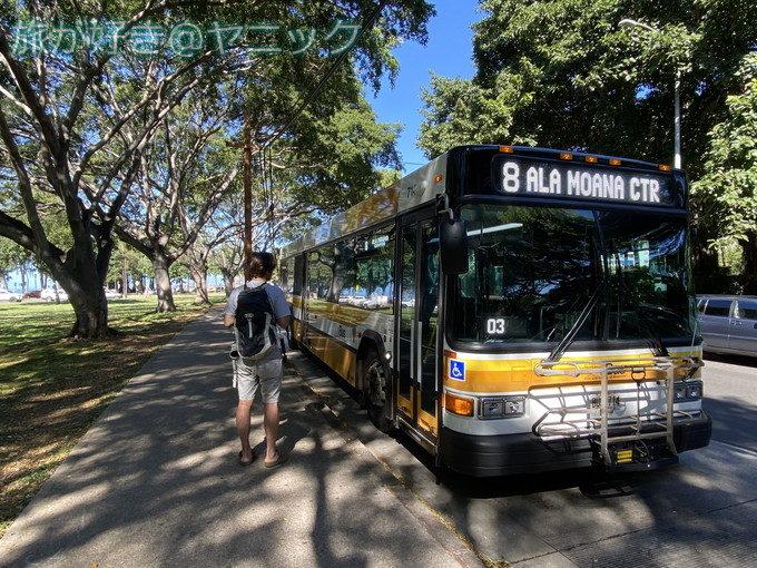 ハワイのバス旅・5つのエピソード|優しい運転手の思い出をブログに書く