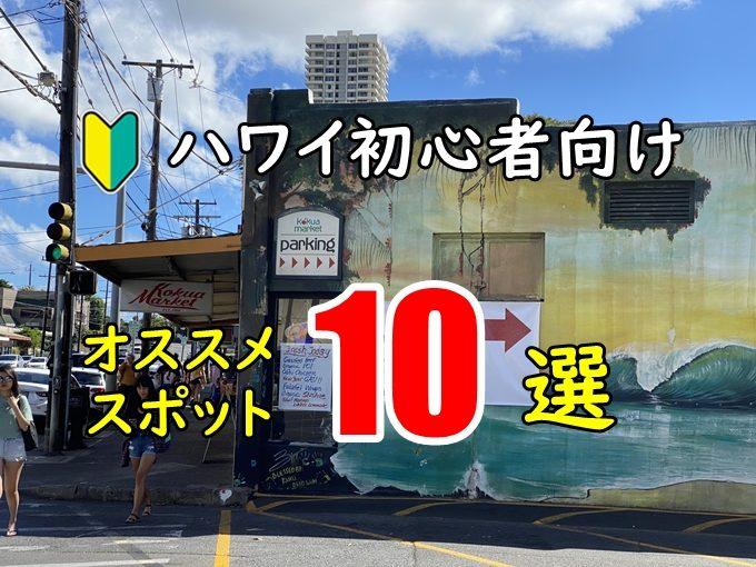 【YOUTUBERが選ぶ】初めてハワイオススメ|10のスポットまとめ